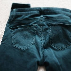 Abercrombie & Fitch Pants - Abercombie Hunter Green Jeans 00/24
